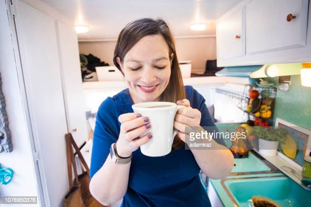 Coffee Time in the RV