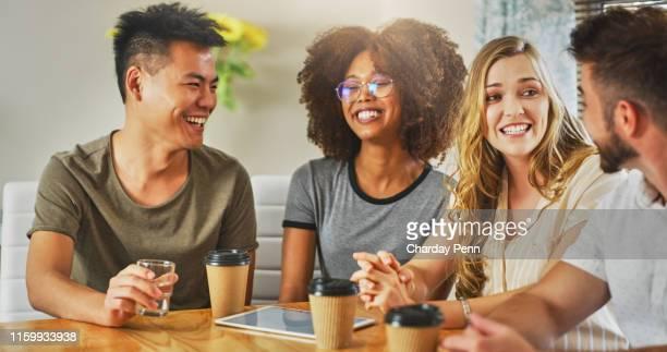 o tempo do café é tempo socializando - pausa para o café - fotografias e filmes do acervo