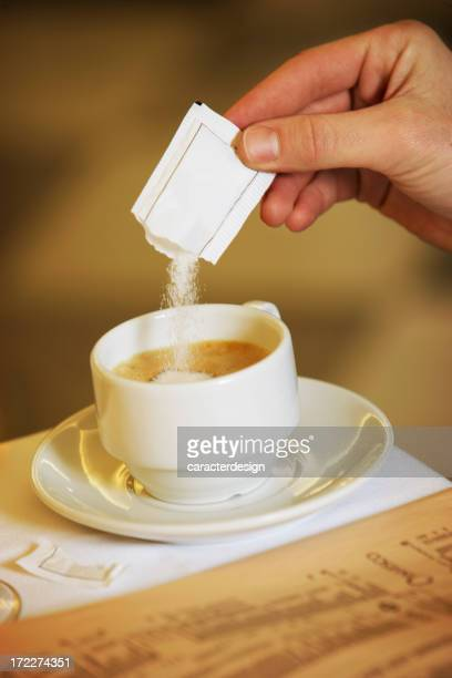 coffee time - sugar coffee stock photos and pictures