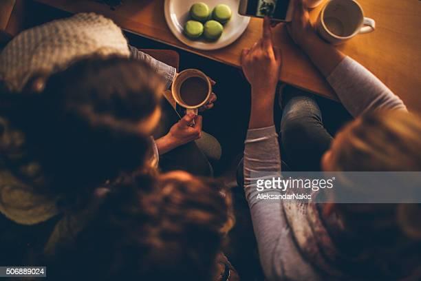 Kaffee Zeit mit Freundinnen