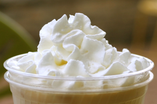 Coffee & whipped cream  - gettyimageskorea