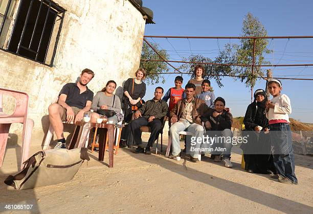 CONTENT] Coffee with a group of refugees from eastern Syria at their unregistered refugee camp March 2013