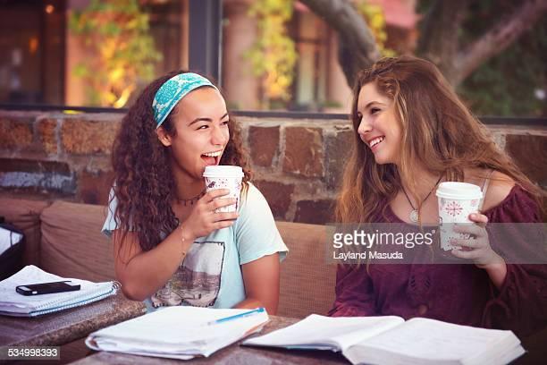 Coffee With Homework - Teen Girls