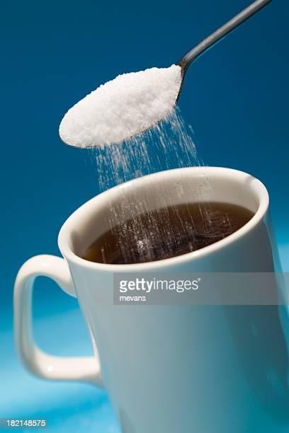 Caffè con zucchero di canna