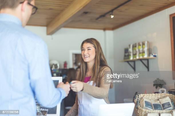 Coffeehouse hangout