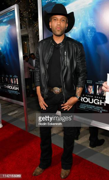 Coffey Anderson attends the premiere of 20th Century Fox's Breakthrough at Westwood Regency Theater on April 11 2019 in Los Angeles California