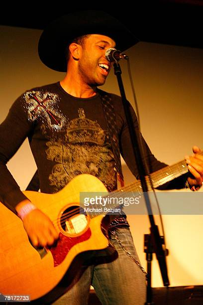 Coffey Anderson performs at the Still Thankful Still Giving Charity Event on November 29 2007 at Cinespace in Hollywood California