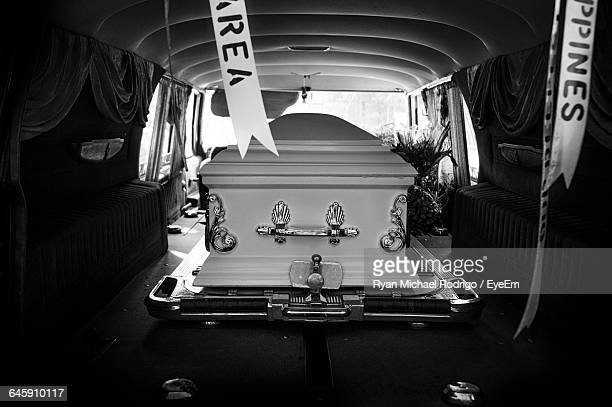 Coffin In Van