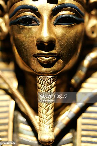 Coffinette For The Viscera Of Tutankhamun during Tutankhamun and the Golden Age of the Pharaohs Returns to LACMA for a FiveMonth Engagement Opening...