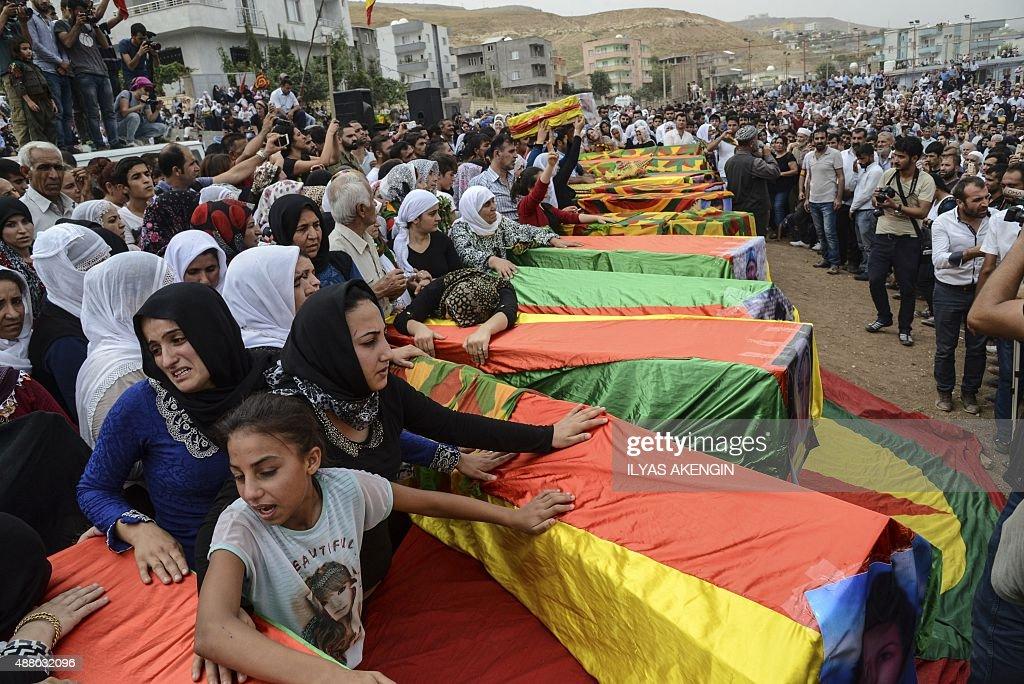 TURKEY-KURDS-UNREST-CIZRE : News Photo