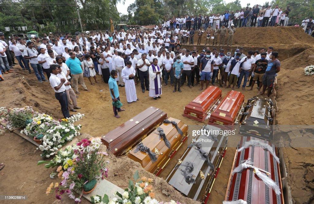 Multiple Bomb Blasts On Easter Sunday In Sri Lanka : News Photo