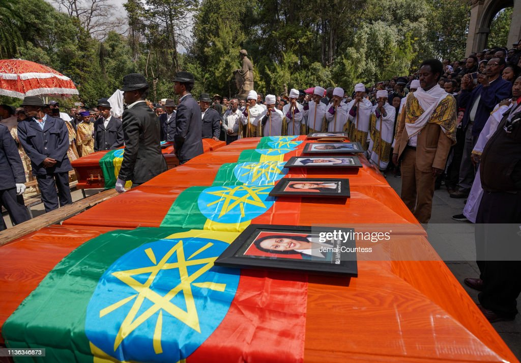 ETH: Memorial Service For Victims Of The Ethiopian Airlines Crash