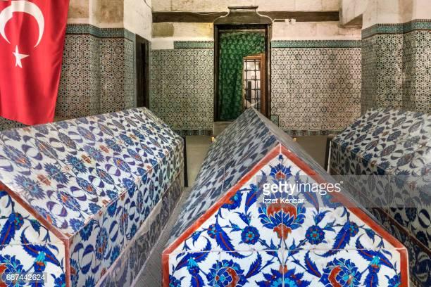 Coffins  Ulucami Mosque , Adana Turkey