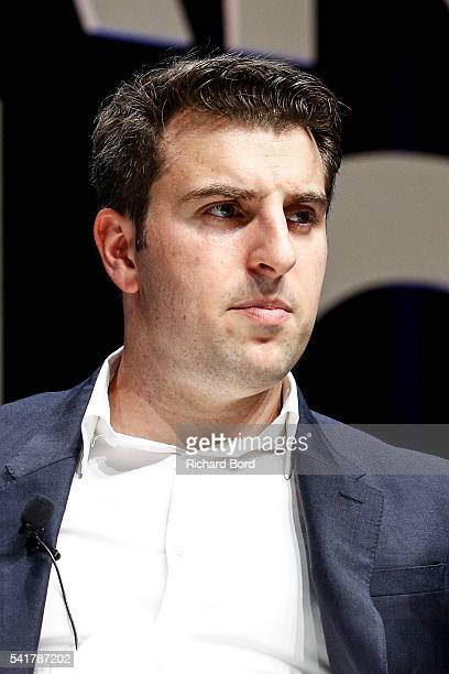 CEO CoFounder Airbnb Brian Chesky attends The Cannes Lions 2016 on June 20 2016 in Cannes France