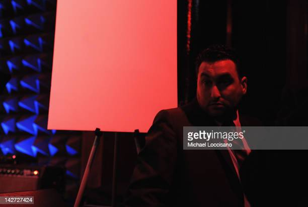 CoFounder Alex Winehouse attends the US Launch of the The Amy Winehouse Foundation at Joe's Pub on April 11 2012 in New York City