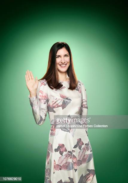Cofounder and CEO at Away Steph Korey is photographed for Forbes Magazine on October 21 2018 in New York City COVER IMAGE CREDIT MUST READ Jamel...