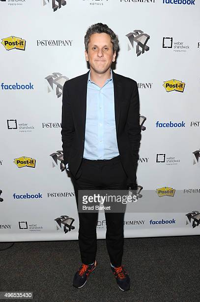 Co-founder and CEO of Box Aaron Levie attends 'The Fast Company Innovation Festival' - Building A Business That Matters, Part II With Box, Ellevate...