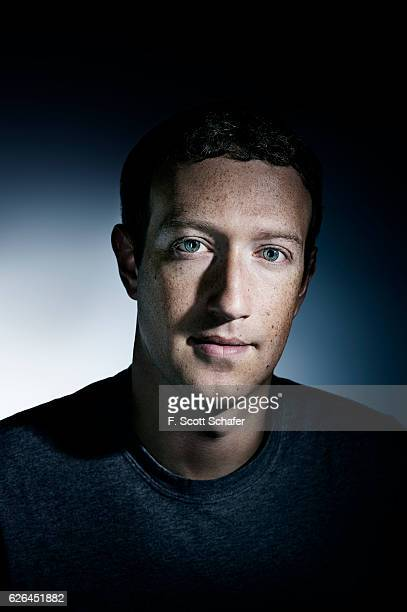 Cofounder and CEO of Facebook Mark Zuckerberg is photographed for Popular Science on July 5 2016 in Menlo Park California COVER IMAGE