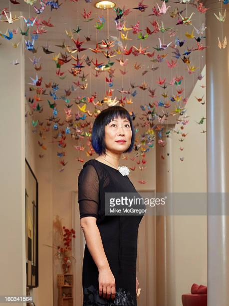 Cofounder and CEO of Geomagic Ping Fu is photographed for The Times Magazine on December 9 2012 in Chapel Hill North Carolina PUBLISHED IMAGE