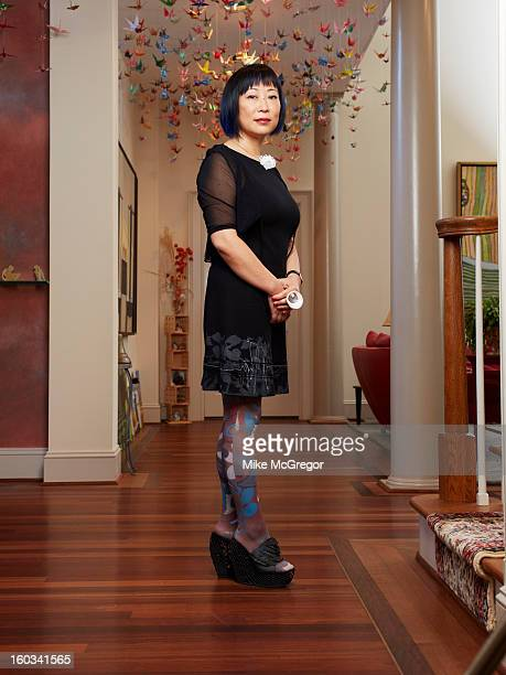 Cofounder and CEO of Geomagic Ping Fu is photographed for The Times Magazine on December 9 2012 in Chapel Hill North Carolina