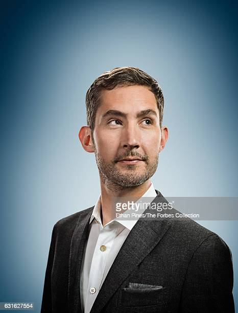 Cofounder and CEO of Instagram Kevin Systrom is photographed for Forbes Magazine on July 8 2016 in Menlo Park California COVER IMAGE CREDIT MUST READ...