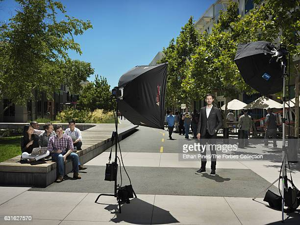 Cofounder and CEO of Instagram Kevin Systrom is photographed for Forbes Magazine on July 8 2016 in Menlo Park California PUBLISHED IMAGE CREDIT MUST...