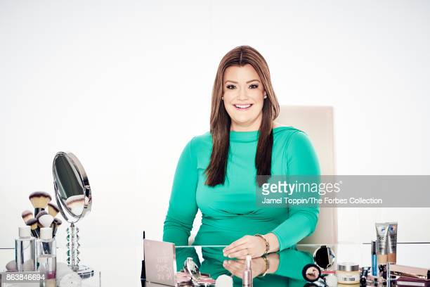 Co-founder and CEO of It Cosmetics, Jamie Kern Lima is photographed for Forbes Magazine on April 19, 2017 in Jersey City, New Jersey. CREDIT MUST...