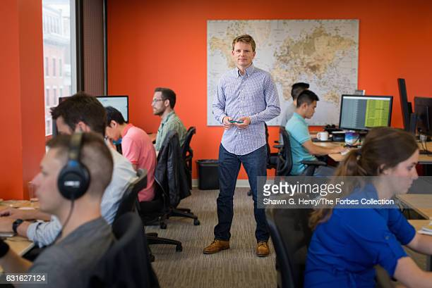 Cofounder and CEO of Jana Dr Nathan Eagle is photographed for Forbes Magazine on July 13 2015 in Boston Massachusetts CREDIT MUST READ Shawn G...