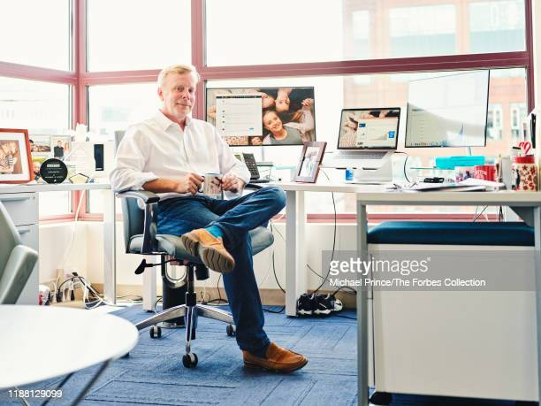 Co-founder and CEO of Jobcase, Frederick Goff is photographed for Forbes Magazine on July 18, 2019 in Cambridge, Massachusetts. PUBLISHED IMAGE....