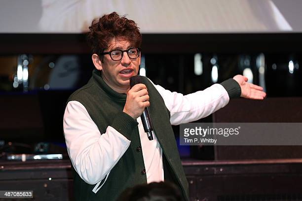 Cofounder and CEO of Kickstarter Yancey Strickler hosts the Kickstarter and Creative Communities BB Sessions during the Sundance London Film and...