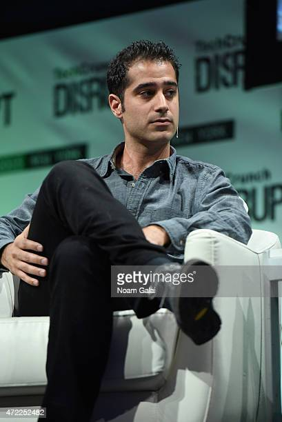 CoFounder and CEO of Periscope Kayvon Beykpour speaks onstage during TechCrunch Disrupt NY 2015 Day 2 at The Manhattan Center on May 5 2015 in New...