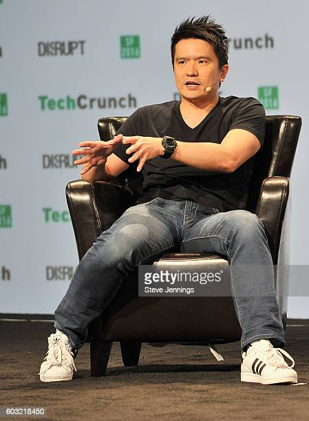 Co-Founder and CEO of Razer Min-Liang Tan speaks onstage during TechCrunch Disrupt SF 2016 at Pier 48 on September 12, 2016 in San Francisco,...