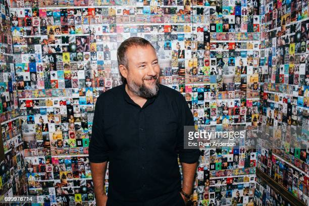 Cofounder and CEO of the international media company VICE Media Shane Smith is photographed for The Hollywood Reporter on June 16 2016 in New York...
