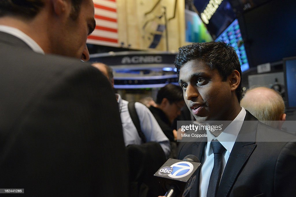Co-Founder and CEO of the Kairos Society Ankur Jain attends the Kairos Society Global Summit at New York Stock Exchange on February 23, 2013 in New York City.
