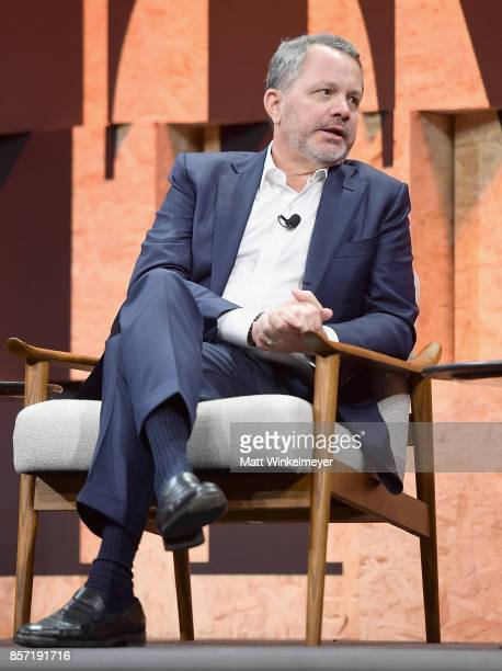 CoFounder and CEO of the Rise Fund and CoFounder and Managing Partner of TPG Growth Bill McGlashan speaks onstage during Vanity Fair New...