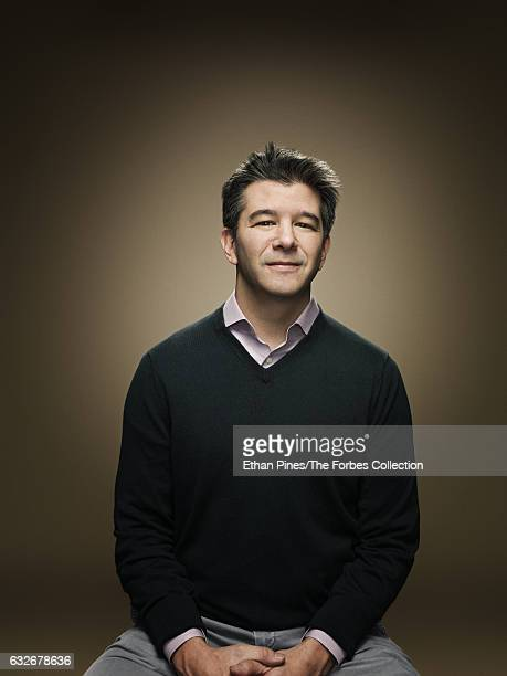 Cofounder and CEO of Uber Travis Kalanick is photographed for Forbes Magazine on November 21 2016 in San Francisco California CREDIT MUST READ Ethan...