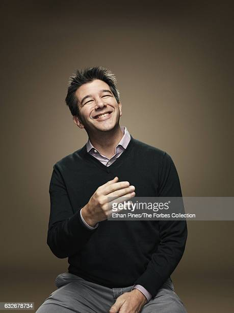 Cofounder and CEO of Uber Travis Kalanick is photographed for Forbes Magazine on November 21 2016 in San Francisco California PUBLISHED IMAGE CREDIT...