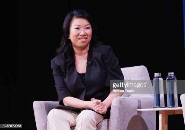 Co-Founder and CEO of Zola Shan-Lyn Ma speaks onstage during The Platform Is the Master: Disrupting and Reshaping Fragmented Industries during Day 1...