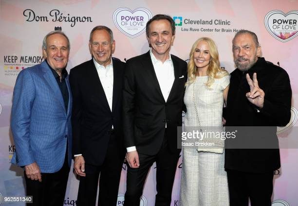 CoFounder and Chairman of Keep Memory Alive Larry Ruvo Cleveland Clinic Executive Advisor Toby Cosgrove CEO and President of Cleveland Clinic Dr Tom...