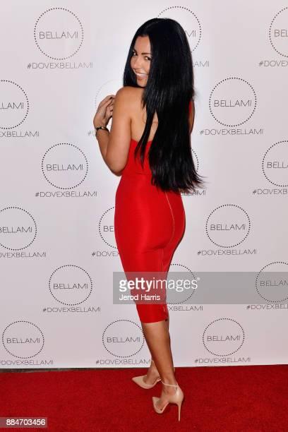BELLAMI cofounder and COO Nikki Eslami attends Dove Cameron x BELLAMI Launch Party at Unici Casa Gallery on December 2 2017 in Culver City California