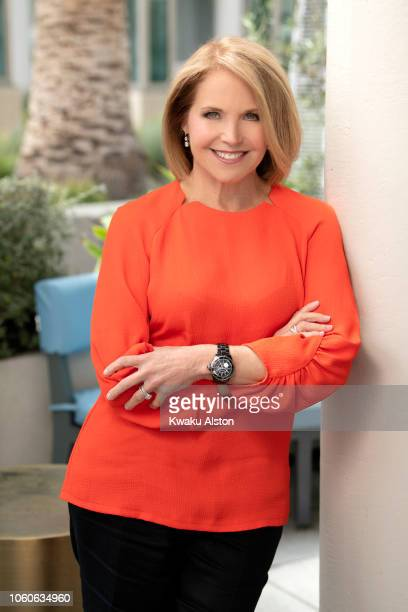 CoFounder and Council of Founders and Advisors of Stand Up To Cancer Katie Couric is photographed for The Hollywood Reporter on May 20 2018 in Los...