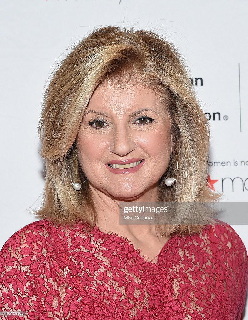 Co-founder and editor-in-chief of The Huffington Post Arianna Huffington attends the 2015 American Heart Association Go Red For Women Luncheon at the Hilton New York on March 3, 2015 in New York City.