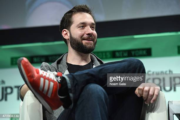 Co-Founder and Executive Chair of Reddit, and Partner at Y Combinator, Alexis Ohanian speaks onstage during TechCrunch Disrupt NY 2015 - Day 3 at The...