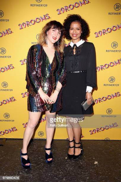 CoFounder and Executive Creative Director of Refinery29 Piera Gelardi and Gugu MbathaRaw attend Refinery29's 29Rooms San Francisco Turn It Into Art...