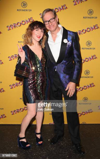 CoFounder and Executive Creative Director of Refinery29 Piera Gelardi and Paul Feig attend Refinery29's 29Rooms San Francisco Turn It Into Art...