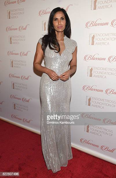 EFA cofounder and host Padma Lakshmi arrives at the 8th Annual Blossom Ball benefiting the Endometriosis Foundation of America hosted by EFA Founders...