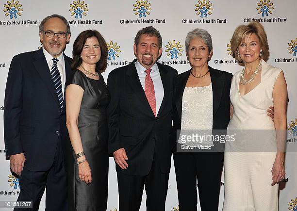 CHF Cofounder and President Irwin Redlener CHF Executive Director Karen Redlener CHF Board Member and Chair CHF's Advisory Council James L Dolan...