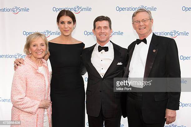 Cofounder and President of Operation Smile Kathy Magee Actress and Master of Ceremonies Kate Walsh CEO of Johnson and Johnson Alex Gorsky and CEO of...
