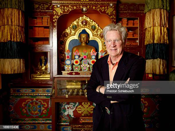 Co-founder and president of the Tibet House, New York, Robert Thurman for Conde Nast Traveler - Spain on April 21, 2009 in New York City. PUBLISHED...