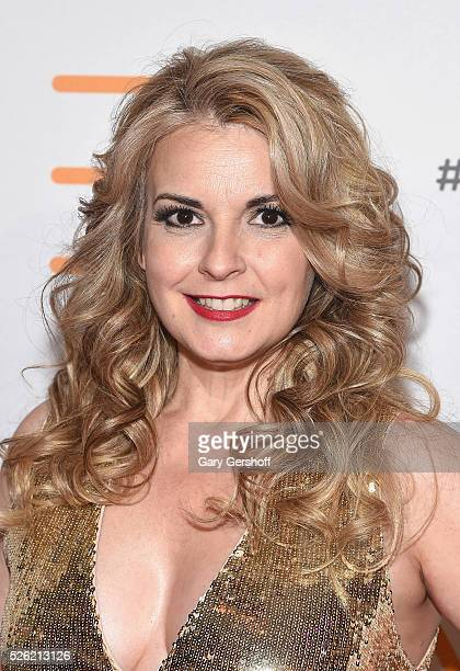 Cofounder and President of the We Are Family Foundation Nancy Hunt attends the We Are Family 2016 Celebration Gala at Hammerstein Ballroom on April...